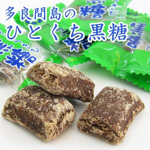 垣乃花 多良間島のひとくち黒糖 100g 沖縄県多良間島産黒糖使用