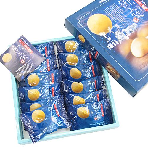 パインみるく饅頭 御庭(うなー) 大 12個入り 沖縄銘菓 名護パイン園