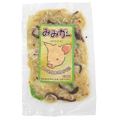 みみがー(酢味) 100g 豚耳皮 沖縄珍味 [冷蔵商品] 大幸商事