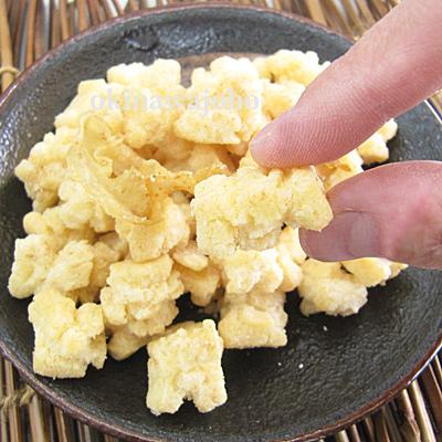 沖縄揚げもちおかき(ほたて) 100g バター醤油風味