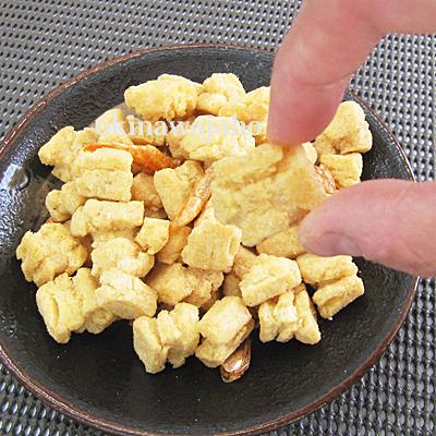 沖縄揚げもちおかき(えび) 100g バター醤油風味