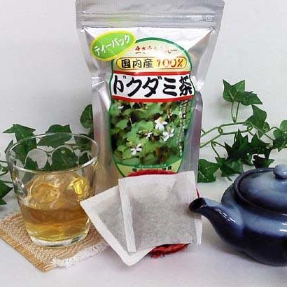ドクダミ茶 20包入り 国産ドクダミ葉使用 無農薬 ティーバッグ