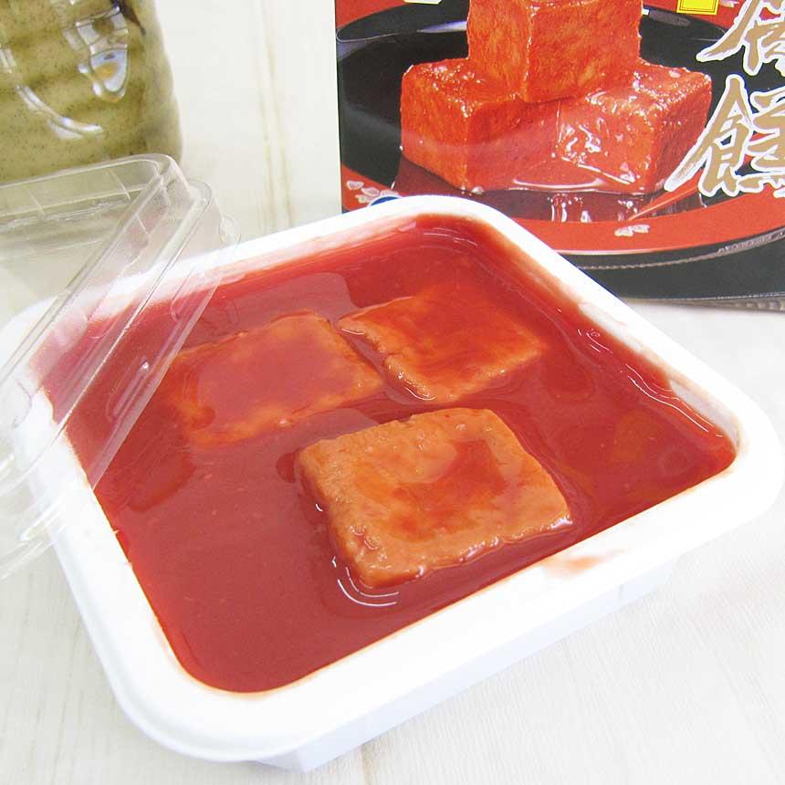 紅あさひの豆腐よう 古酒仕込み 3粒入り 琉球王朝珍味