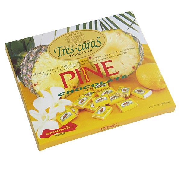 パインチョコレート 32個入り×5箱 パイナップル風味のホワイトチョコ 送料無料