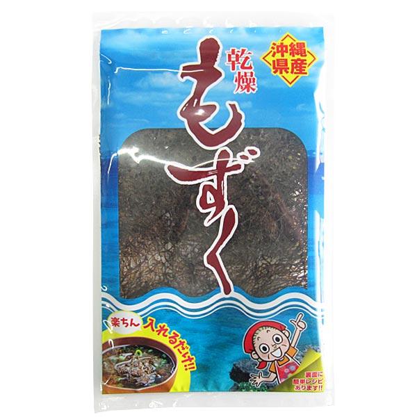 沖縄産 乾燥もずく 10g フコイダン含有 酢の物やお吸い物などに 比嘉製茶