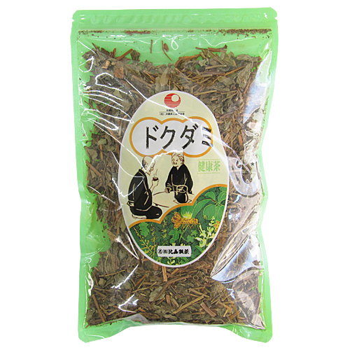 ドクダミ茶 100g 国産ドクダミ葉使用 無農薬 比嘉製茶