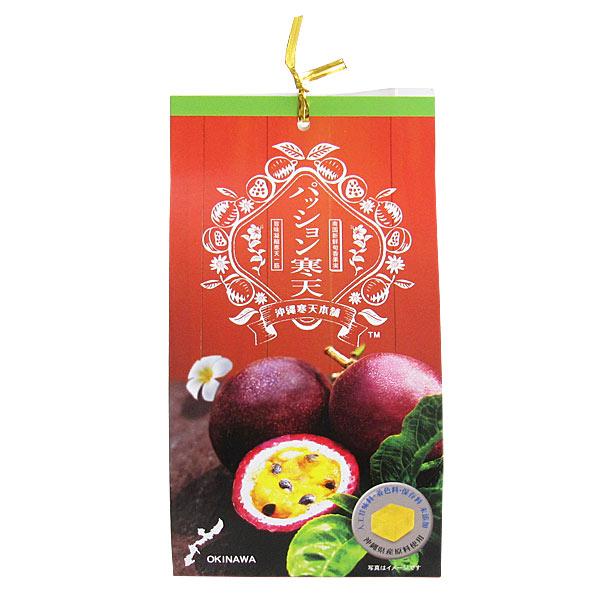パッション寒天 8個入り×9袋 沖縄産パッションフルーツ使用 沖縄寒天本舗 個包装 一口サイズ 送料無料