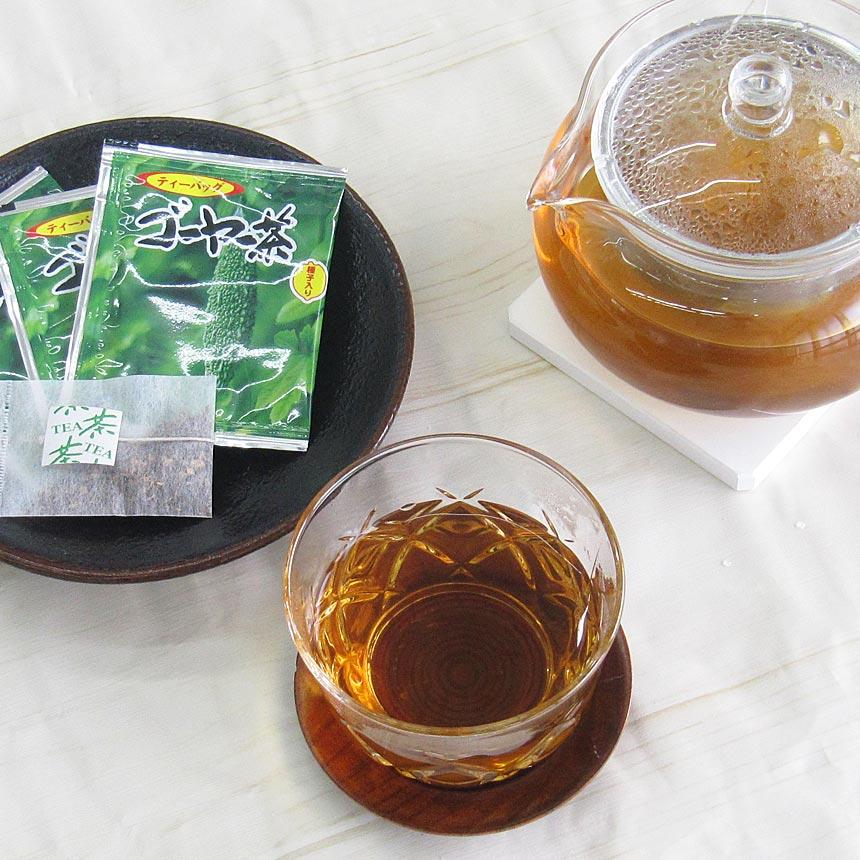 ゴーヤー茶 種入り 20包入り ティーバッグ ベトナム産ゴーヤ使用