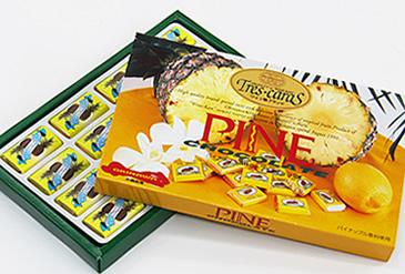 パインチョコレート 16個入り ホワイトチョコとパイナップル風味