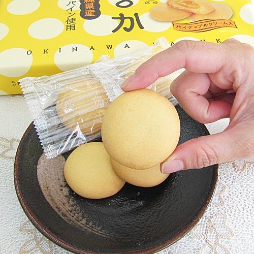 ソフトクッキー 沖縄まるか 沖縄県産パイン使用