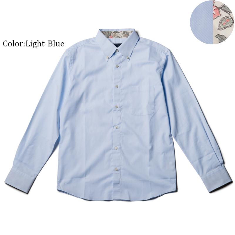 アロハシャツ かりゆしウェア メンズ(男性用)「SALACA」全3色 人気アロハがリニューアル! 長袖 大きいサイズあり 沖縄結婚式にアロハシャツ 【メール便利用で送料無料】