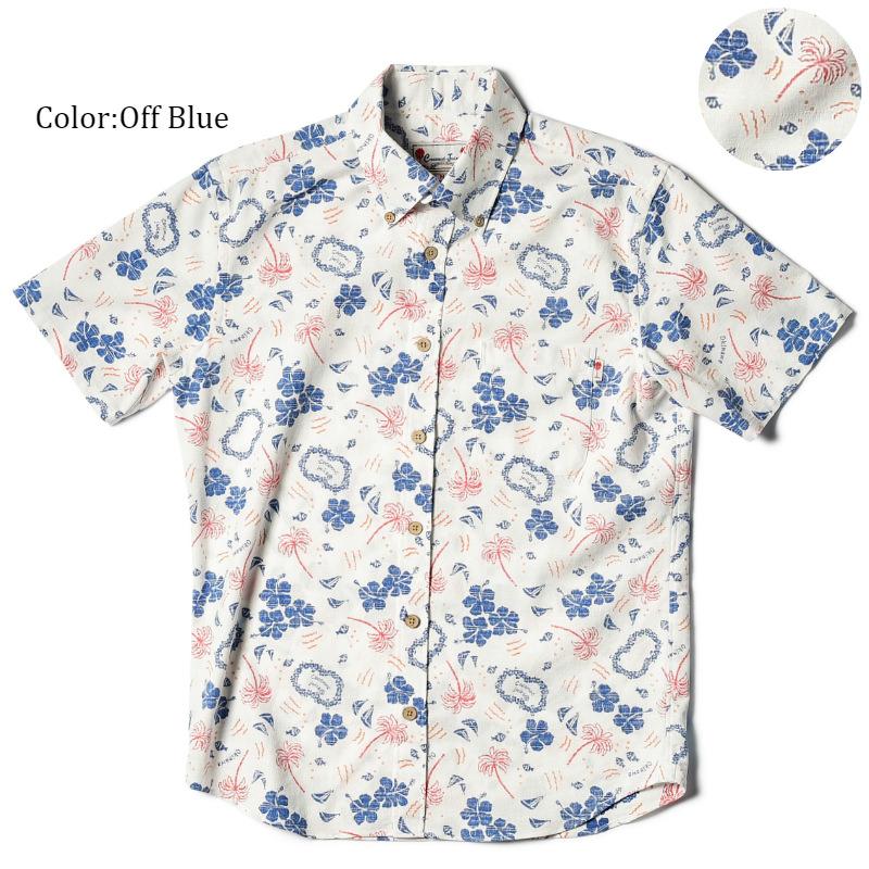 アロハシャツ かりゆしウェア メンズ(男性用)「The tropics style」全5色 人気アロハがリニューアル! 半袖  大きいサイズありリゾートウエディング 沖縄結婚式にアロハシャツ【メール便利用で送料無料】