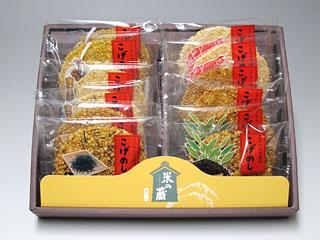 お米の粒々食感がたまりません! 大人気のこげめし6種詰合せ 【米の蔵】12枚入 【ラッピング対応】【のし対応】【のし記名可】
