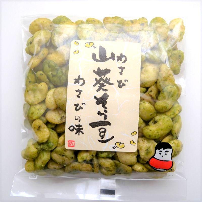 健太豆 わさびそら豆(90g)