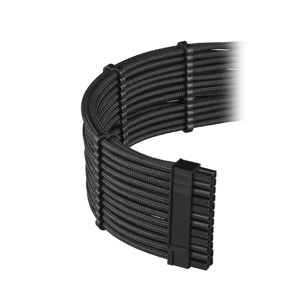 CableMod E-Series PRO ModFlex Cable Kit for EVGA G5 / G3 / G2 / P2 / T2 - BLACK (CM-PEV2-FKIT-KK-R)