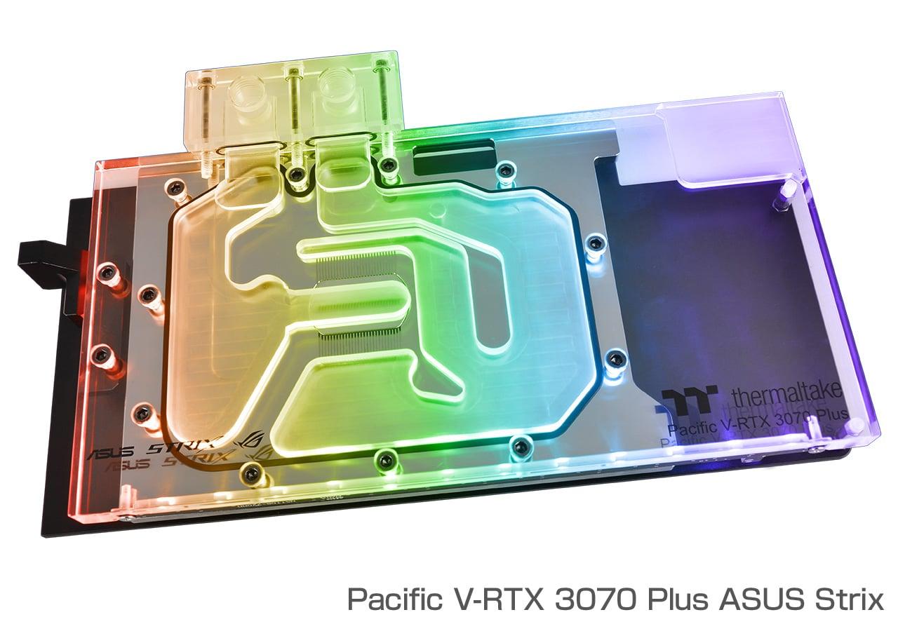 Thermaltake Pacific V-RTX 3070 Plus ASUS Strix (CL-W312-CU00SW-A)