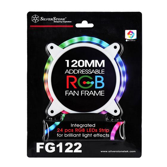 SilverStone SST-FG122 LED内蔵120mmファンフレーム