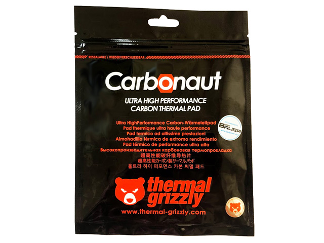 Thermal Grizzly Carbonaut 25×25×0.2 (TG-CA-25-25-02-R)