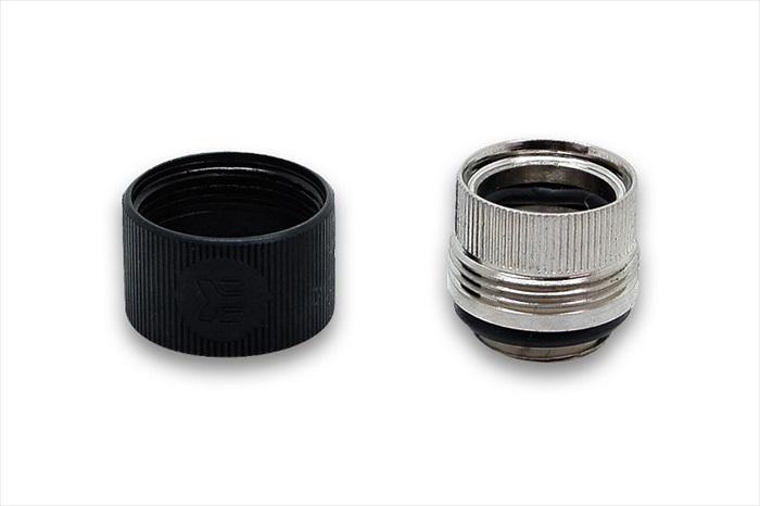 EK Water Blocks EK-HDC Fitting 12mm G1/4 - Black