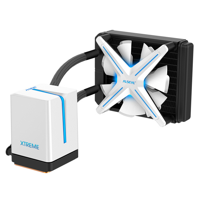 ALSEYE XTREAM X120 White AIO Liquid Cooler