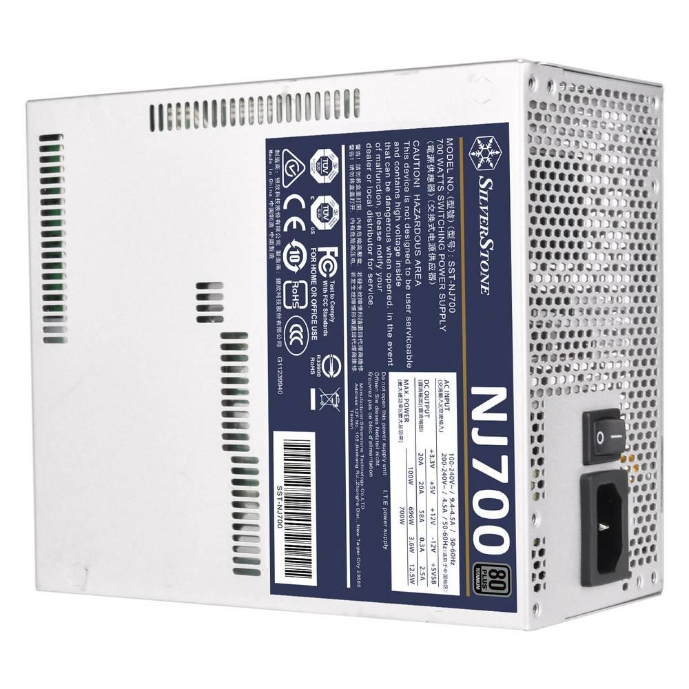 SilverStone NJ700 ATXファンレス電源