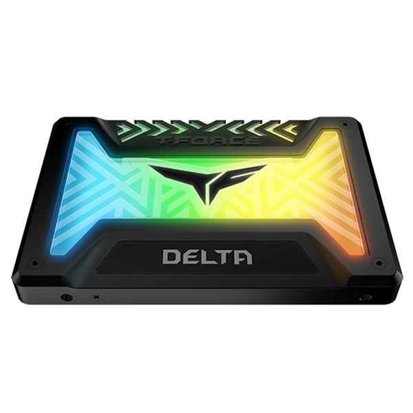 Team T253TR250G3C313 250GB DELTA RGB SSD マグニフィセントバージョン