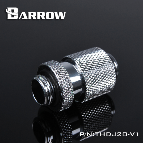BARROW Minor Adjustment Set - 20mm(Male To Male) Shiny silver