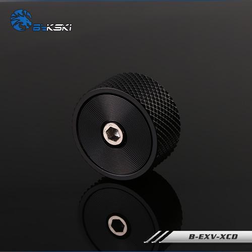 Bykski B-EXV-X CD black exhaust plug Exhaust valve Press black