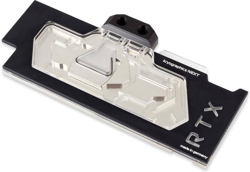 aquacomputer kryographics NEXT RTX 2080 Ti / Titan RTX nickel plated version