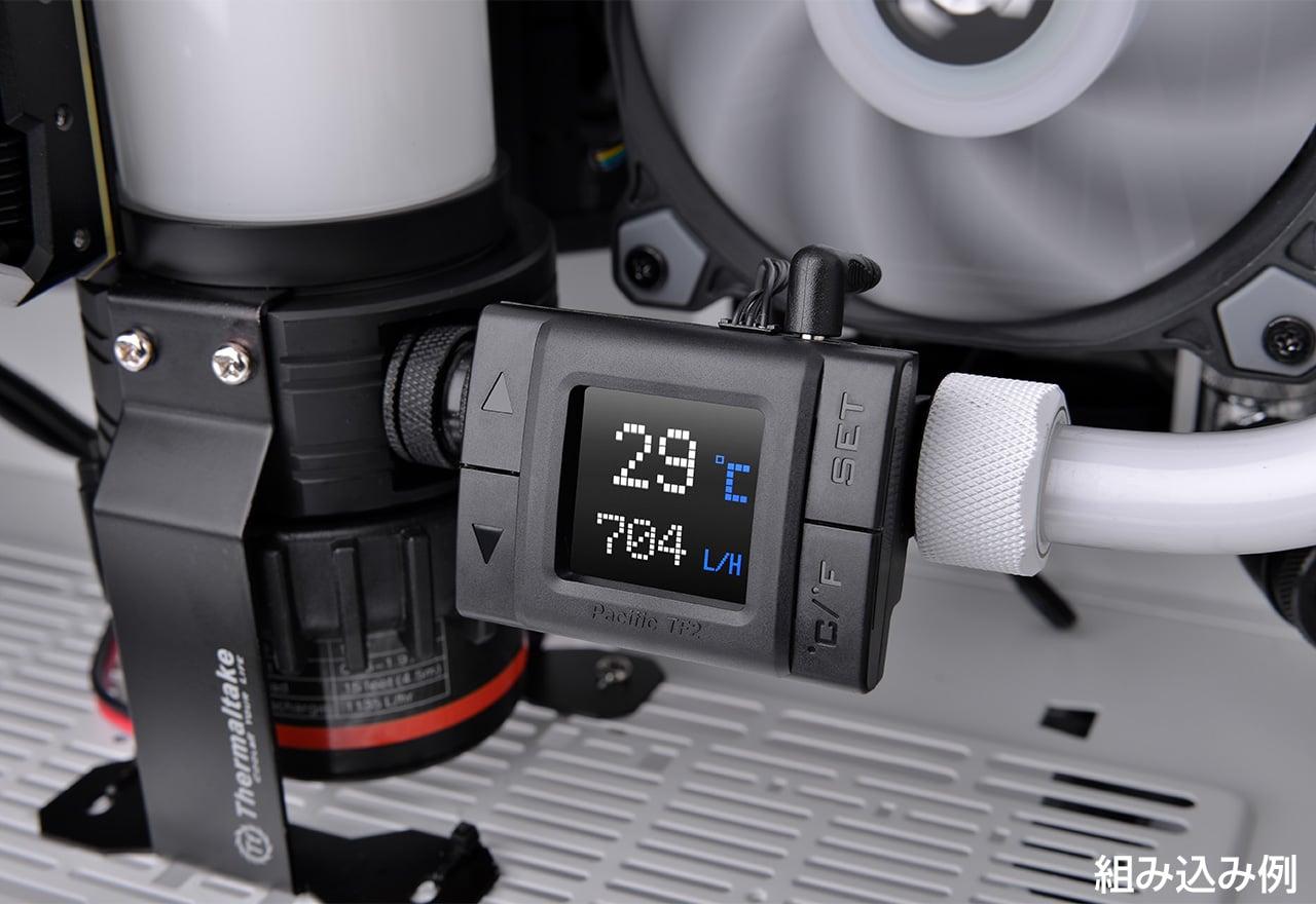 Thermaltake Pacific TF2 Temp & Flow Sensor (CL-W275-CU00SW-A)