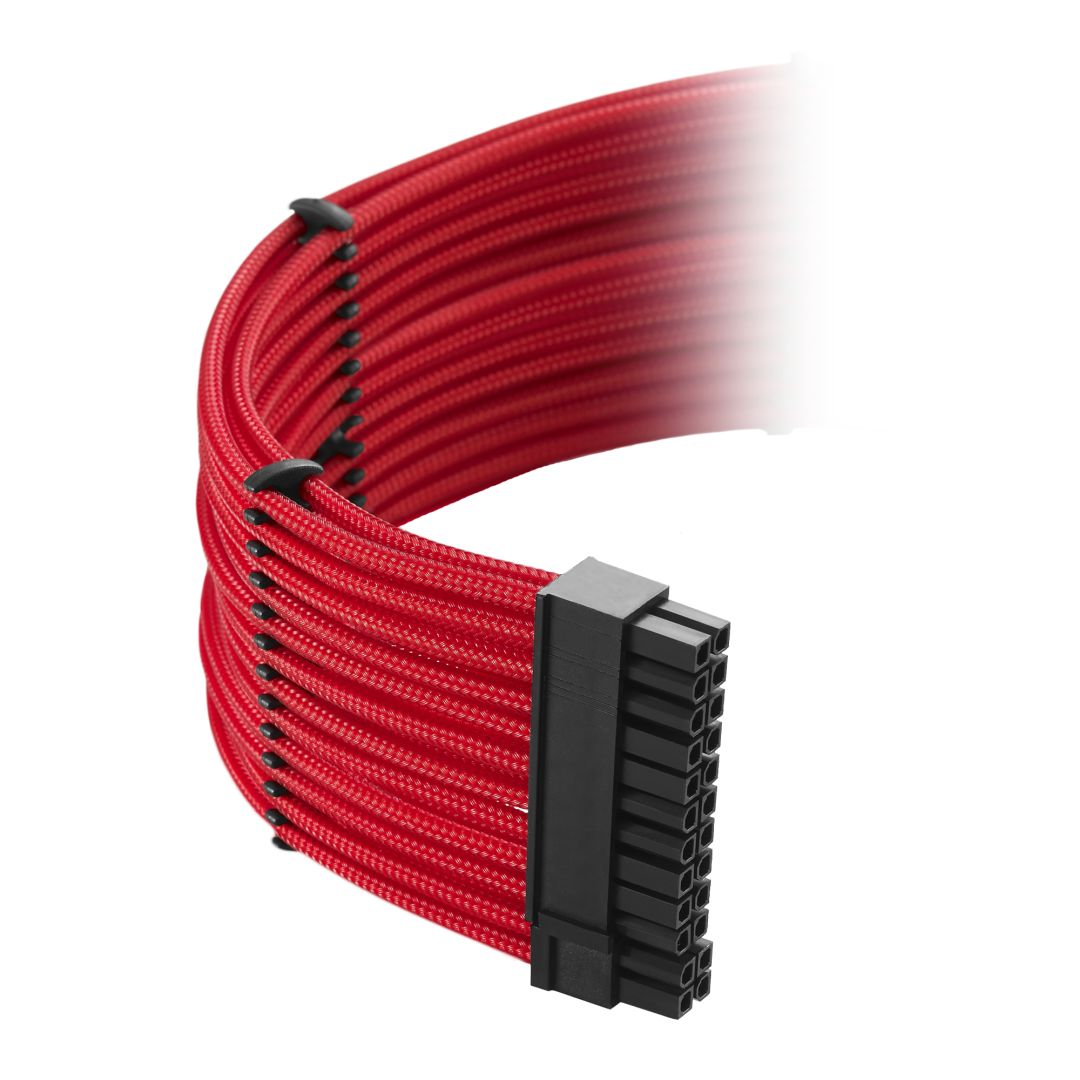 CableMod Classic ModMesh C-Series Cable Kit for Corsair RMi & RMx - RED (CM-CSR-CKIT-NKR-R)
