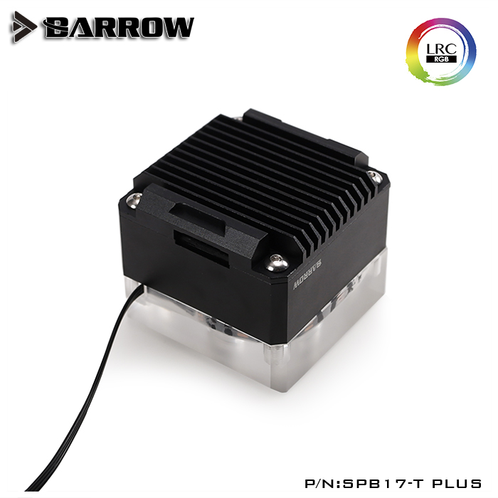 BARROW SPB17-T PLUS Classic Black PLUS version speed 17w pump kit with special used to waterway plate through hole