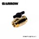 Barrow Mini Water stop valve Gold