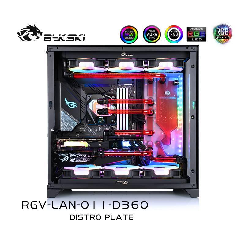 Bykski RGV-LAN-O11-D360 DISTRO PLATE