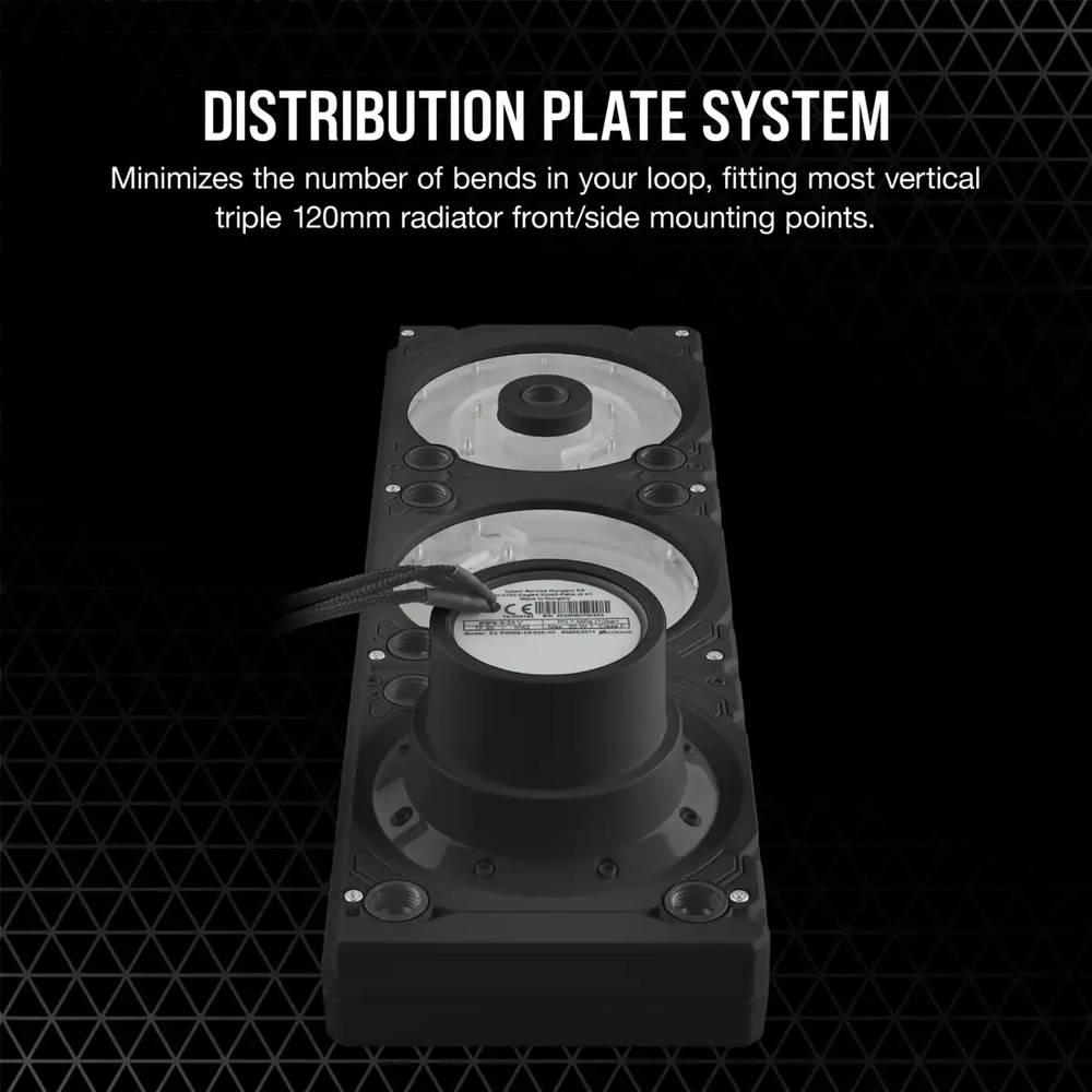CORSAIR Hydro X Series XD7 RGB Pump/Reservoir Combo Black