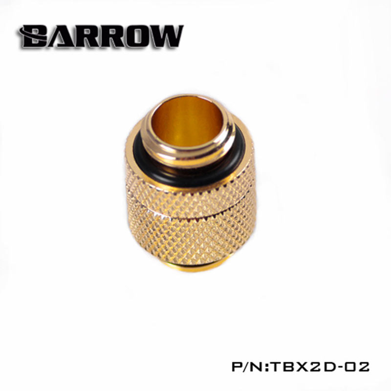 "BARROW G1/4"" Rotary Male to Male  Extender Gold"