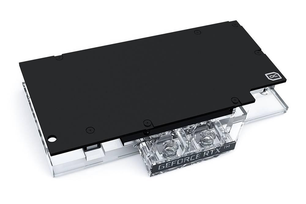 Alphacool Eisblock Aurora Acryl GPX-N RTX 3070 Ventus with Backplate