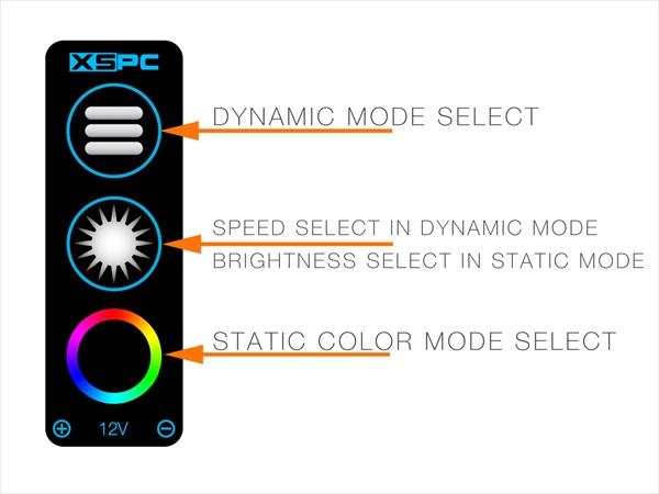 XSPC RayStorm Neo (Intel) Chrome