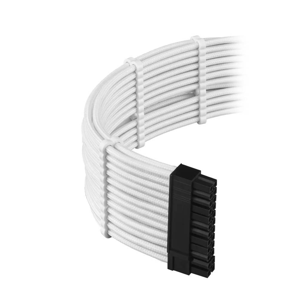 CableMod E-Series PRO ModFlex Cable Kit for EVGA G5 / G3 / G2 / P2 / T2 - WHITE (CM-PEV2-FKIT-KW-R)