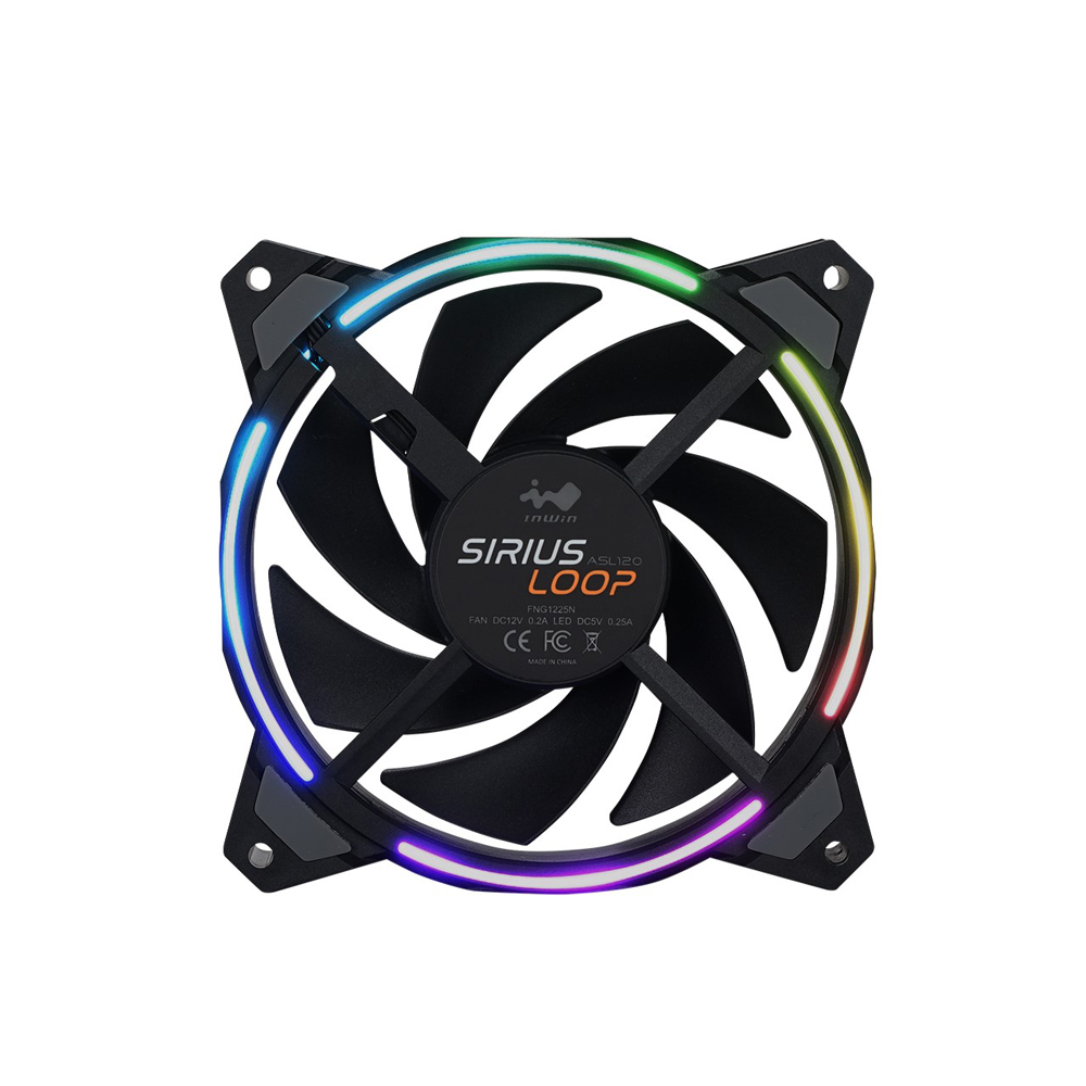 IN WIN Sirius Loop ASL120 1個パック (ASL120FAN-1PK)