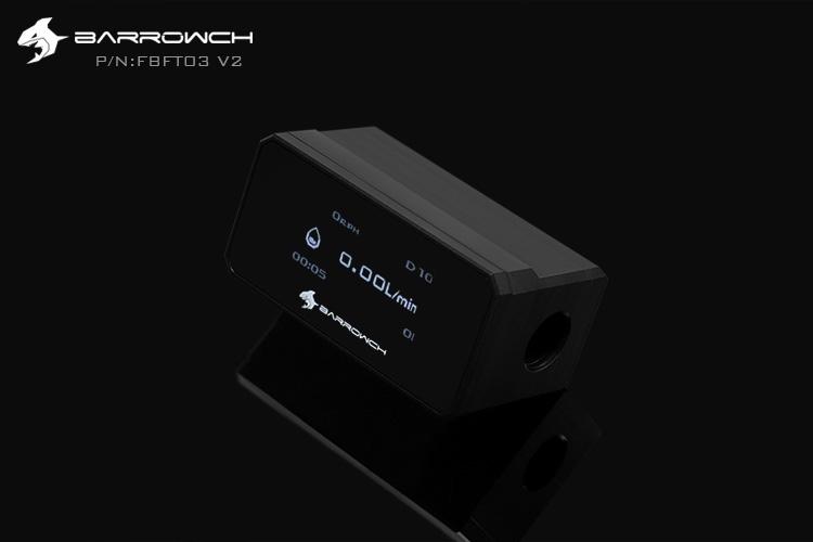 Barrowch Flow meter(OLED) Black