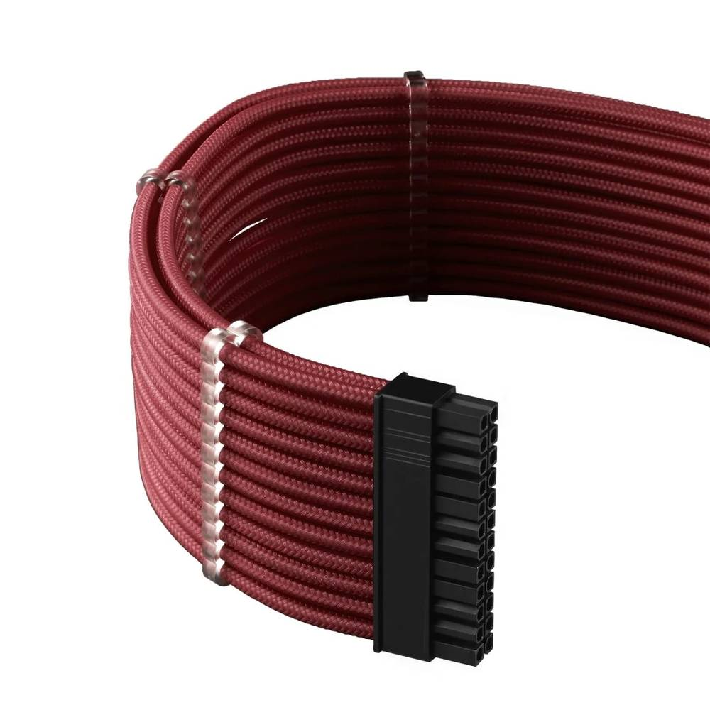 CableMod RT-Series PRO ModMesh Cable Kit for ASUS and Seasonic - BLOOD RED (CM-PRTS-FKIT-NKBR-R)