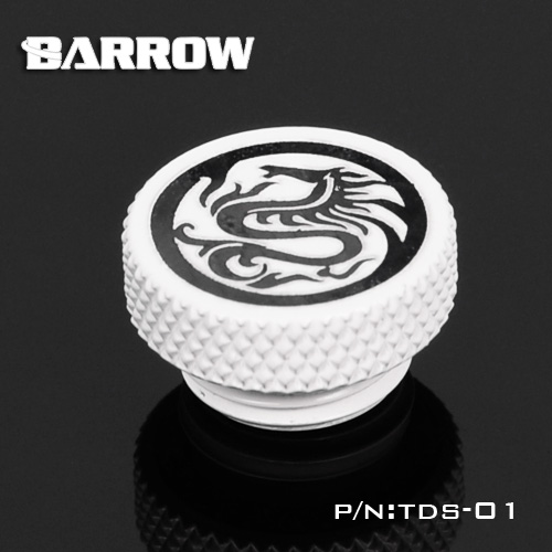 "BARROW G1/4"" Stop Plug Fitting - Limited Edtion White"