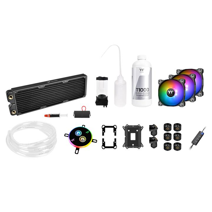 Thermaltake Pacific C360 DDC Soft Tube Water Cooling Kit (CL-W253-CU12SW-A)