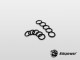 "Bitspower Black O-ring set for Bitspower G1/4"" (10PCS)"