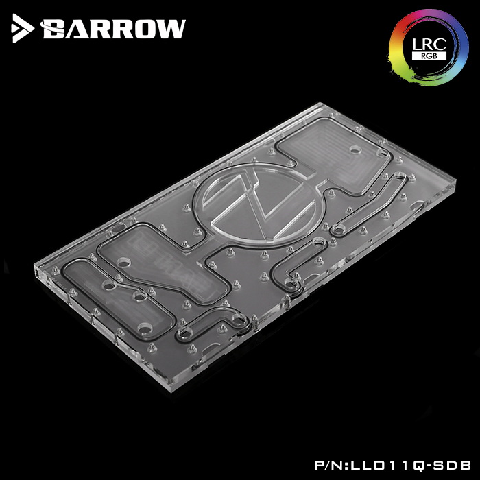 Barrow LRC2.0 prepositive waterway plate for LIAN LI O11 case