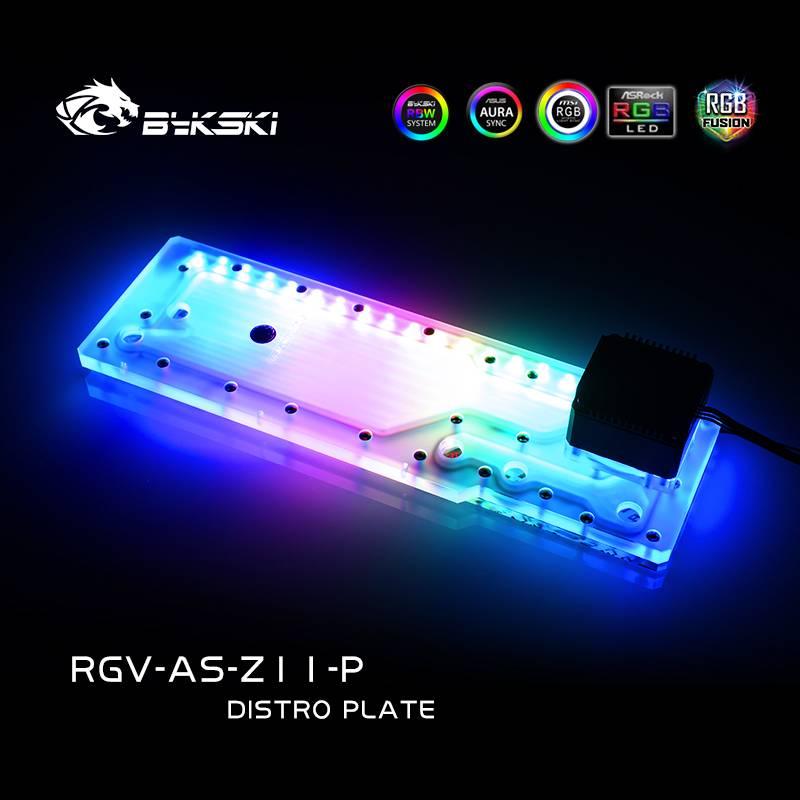 Bykski RGV-AS-Z11-P DISTRO PLATE ASUS ROG Z11