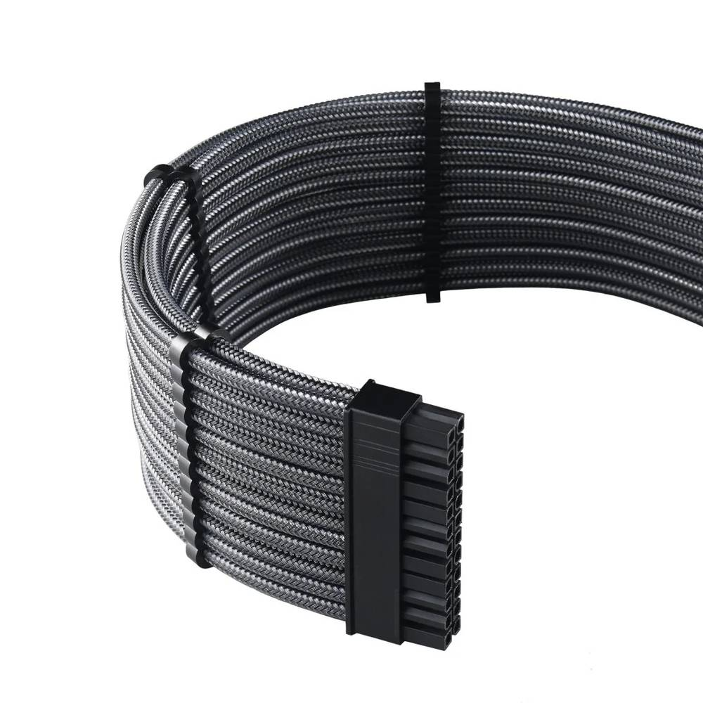 CableMod RT-Series PRO ModMesh Cable Kit for ASUS and Seasonic - CARBON (CM-PRTS-FKIT-NKC-R)