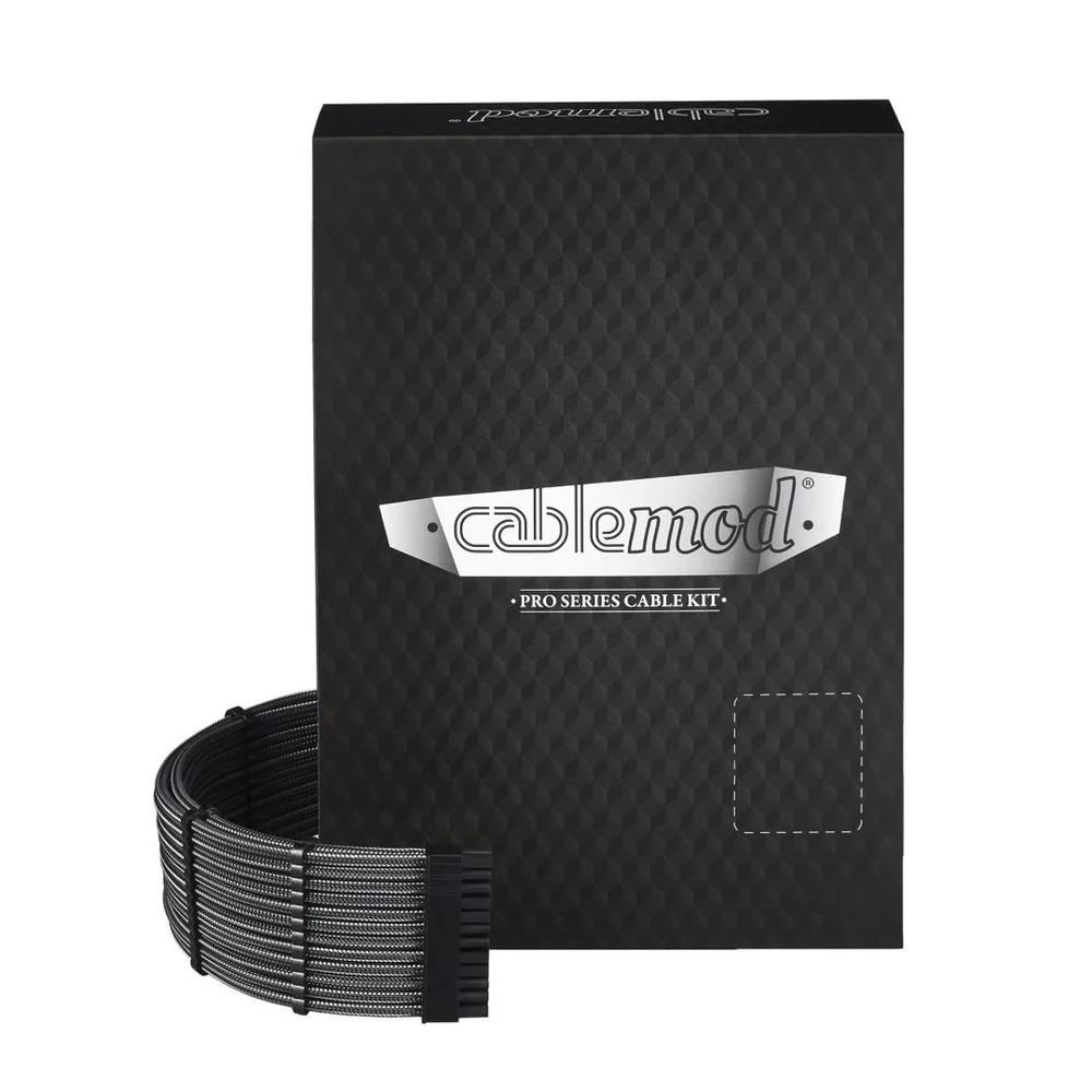 CableMod E-Series PRO ModMesh Cable Kit for EVGA G5 / G3 / G2 / P2 / T2 - CARBON (CM-PEV2-FKIT-NKC-R)