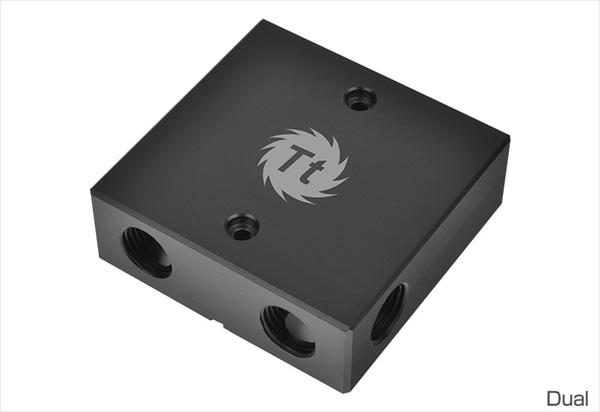 【在庫処分特価】 Thermaltake Pacific VGA Bridge Dual - Black (CL-W060-PL00BL-A)